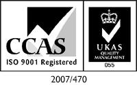 CCAS ukas 9001