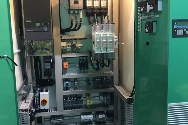 Mace Entry Section Upgrade Project Dec 2019 Upgraded POR DC Drive Panel with Siemens DCM