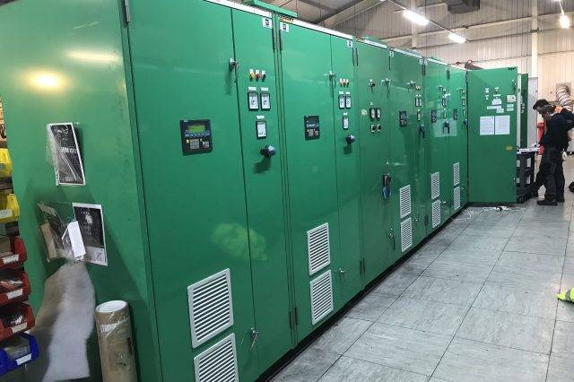 Mace Entry Section Upgrade Project Dec 2019 Entry Drive & PLC Panel Suite